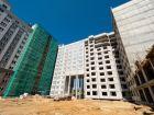 Ход строительства дома 60/2 в ЖК Москва Град - фото 68, Июнь 2018