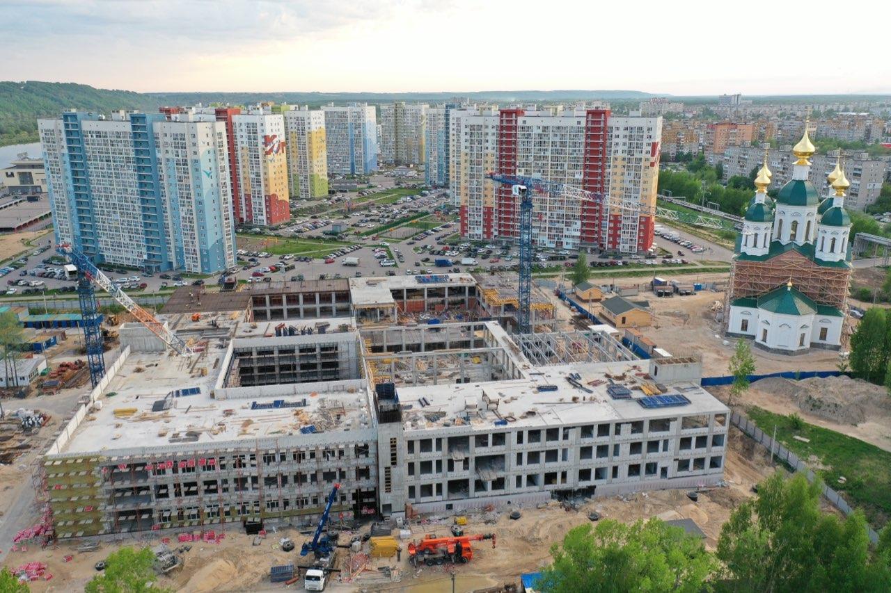 Школа 800: как идет строительство «нижегородского Оксфорда»   - фото 1