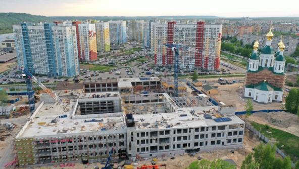 """""""Школа 800"""": как сейчас выглядят строительные площадки корпусов «нижегородского Оксфорда»"""