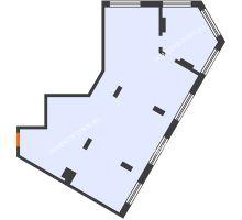 3 комнатная квартира 98,4 м² в ЖК АТЛАНТ СИТИ, дом №2 - планировка