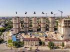 Ход строительства дома Литер 1 в ЖК Звезда Столицы - фото 11, Август 2020