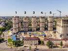 Ход строительства дома Литер 9 в ЖК Звезда Столицы - фото 26, Август 2020