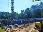 Ход строительства дома № 1 в ЖК Клевер - фото 124, Июль 2018