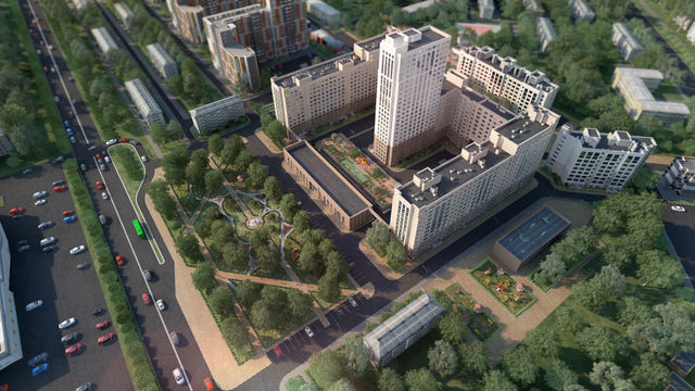 Дом 60/1 в ЖК Москва Град - фото 2