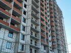 Ход строительства дома № 1 корпус 1 в ЖК Жюль Верн - фото 95, Январь 2016