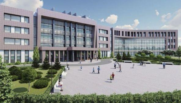 Школа на 1650 мест в микрорайоне ЮФУ в Ростове