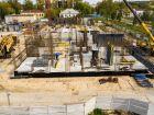 Ход строительства дома № 1 первый пусковой комплекс в ЖК Маяковский Парк - фото 85, Сентябрь 2020