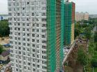 Ход строительства дома № 1 второй пусковой комплекс в ЖК Маяковский Парк - фото 14, Август 2021