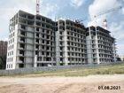 Ход строительства дома № 1 в ЖК Корица - фото 13, Август 2021