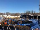 Ход строительства дома № 1 в ЖК Дом на Набережной - фото 14, Февраль 2021