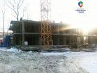 Ход строительства дома № 1 в ЖК Маленькая страна - фото 18, Март 2017