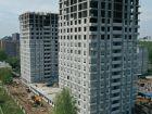 Ход строительства дома № 1 первый пусковой комплекс в ЖК Маяковский Парк - фото 27, Май 2021