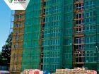 Ход строительства дома № 1 в ЖК Клевер - фото 48, Июнь 2019