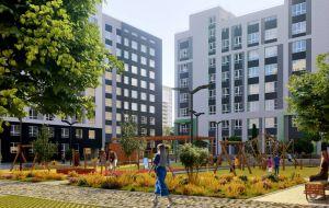Квартиры от 27,22 кв.м.<br>Разноформатные планировки.<br>