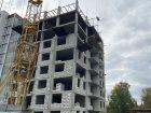 Ход строительства дома № 7 в ЖК Заречье - фото 28, Октябрь 2020
