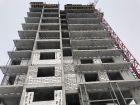 Ход строительства дома № 2 в ЖК Подкова на Родионова - фото 41, Январь 2021