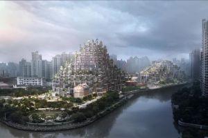 Торговый комплекс «1000 деревьев» – восьмое чудо света в Шанхае (Китай)