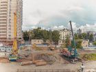 ЖК Ленина, 46 - ход строительства, фото 17, Июнь 2021