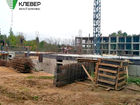 Ход строительства дома № 1 в ЖК Клевер - фото 110, Сентябрь 2018